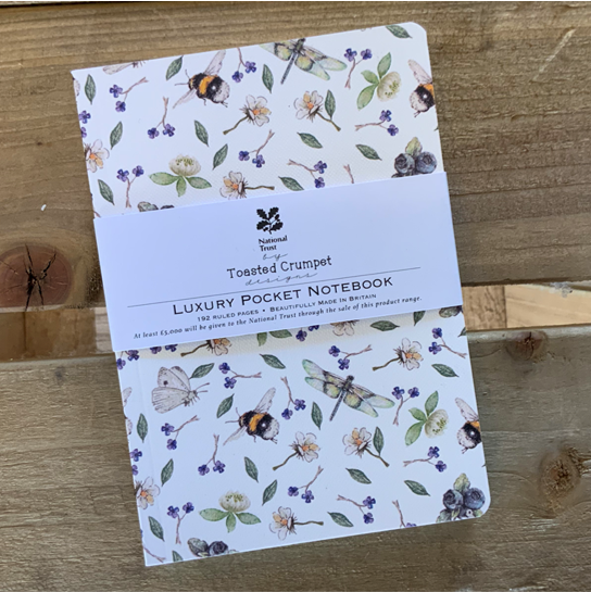 Wildflower meadows pure lined pocket notebook (A6)