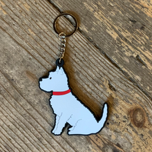 Load image into Gallery viewer, Westie keyring
