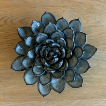Load image into Gallery viewer, Ceramic succulent blue grey - large