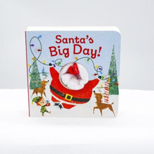 Load image into Gallery viewer, Santa's big day chunky finger puppet book