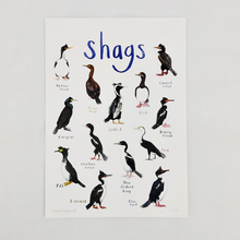 Load image into Gallery viewer, Shags A4 print