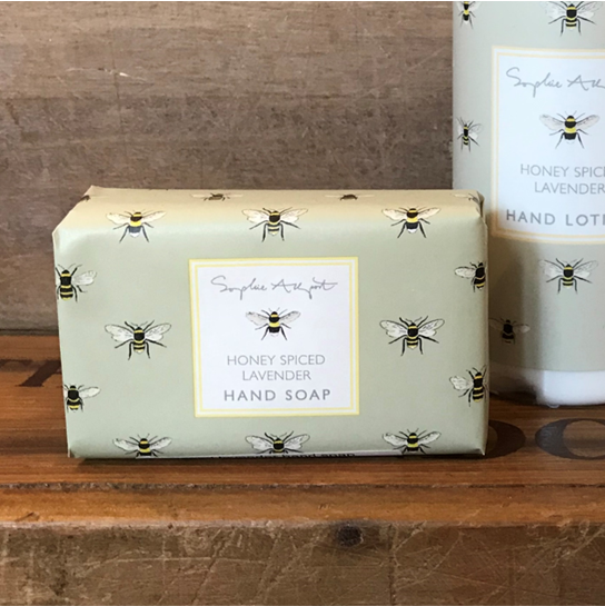 Honey spiced lavender hand soap
