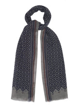 Load image into Gallery viewer, Temple softest twill wool scarf