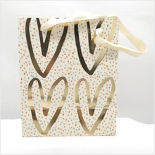 Load image into Gallery viewer, Hey hearts medium gift bag