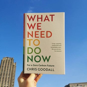 What we need to do now for a zero carbon future book