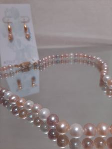 Freshwater Cultured Pearls Set