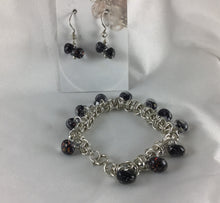 Load image into Gallery viewer, Sterling Silver Chainmaille Bracelet