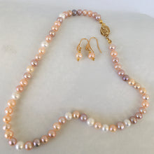 Load image into Gallery viewer, Freshwater Cultured Pearls Set