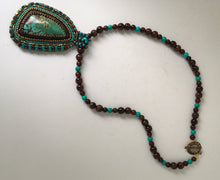 Load image into Gallery viewer, Chinese Turquoise Gemstone Pendant