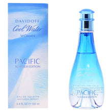 Laden Sie das Bild in den Galerie-Viewer, Damenparfum Cool Water Woman Pacific Summer Edition Davidoff EDT