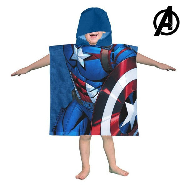 Frottéhandtuch mit Kapuze Captain America The Avengers 74171