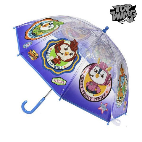 Bubble Regenschirm Top Wing Blau (ø 45 cm)