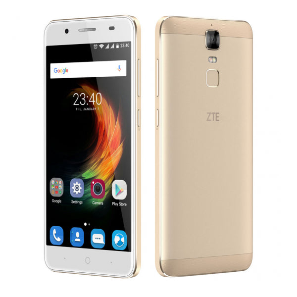 "Smartphone ZTE BLADE A610PLUS 5,5"" FHD IPS Quad Core 33 GB 2 GB RAM GPS 4G Android 6.0 Gold"