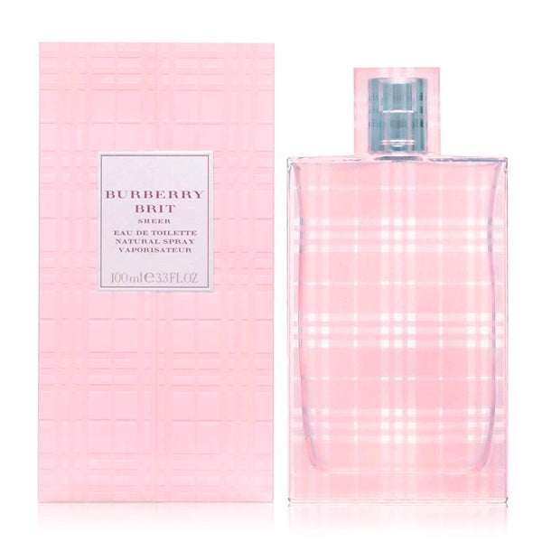Damenparfum Brit Sheer Burberry EDT