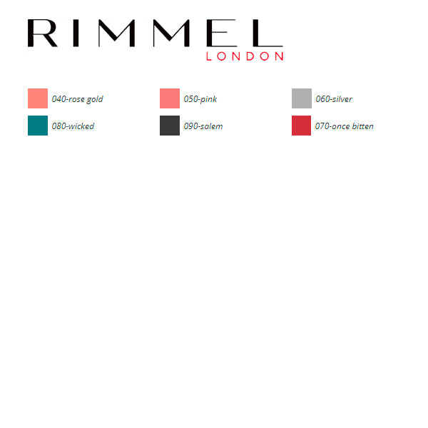 Lippgloss Art Metallics Rimmel London
