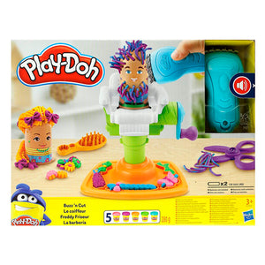 Play-Doh Fuzzy Pumper Barber Shop Hasbro