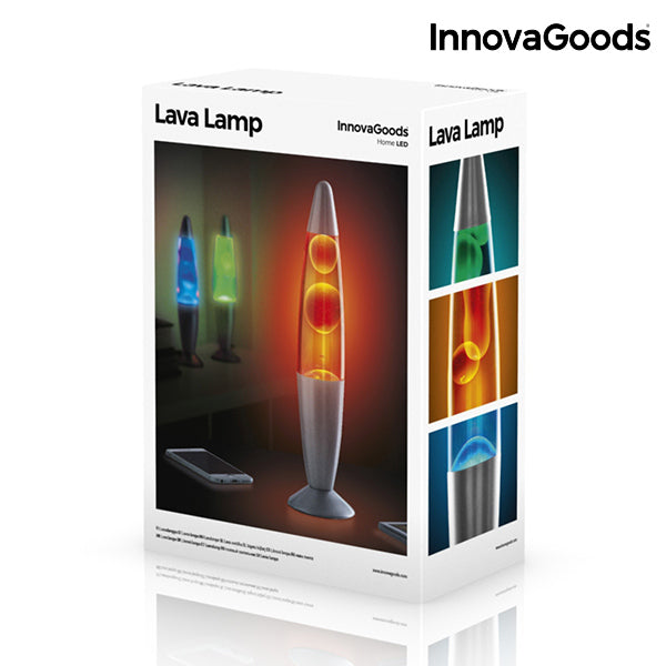 InnovaGoods 25 W Magma Lavalampe
