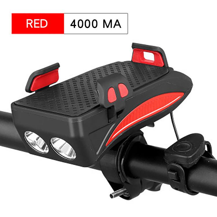 4-in-1 Multi-function Bicycle Front Light
