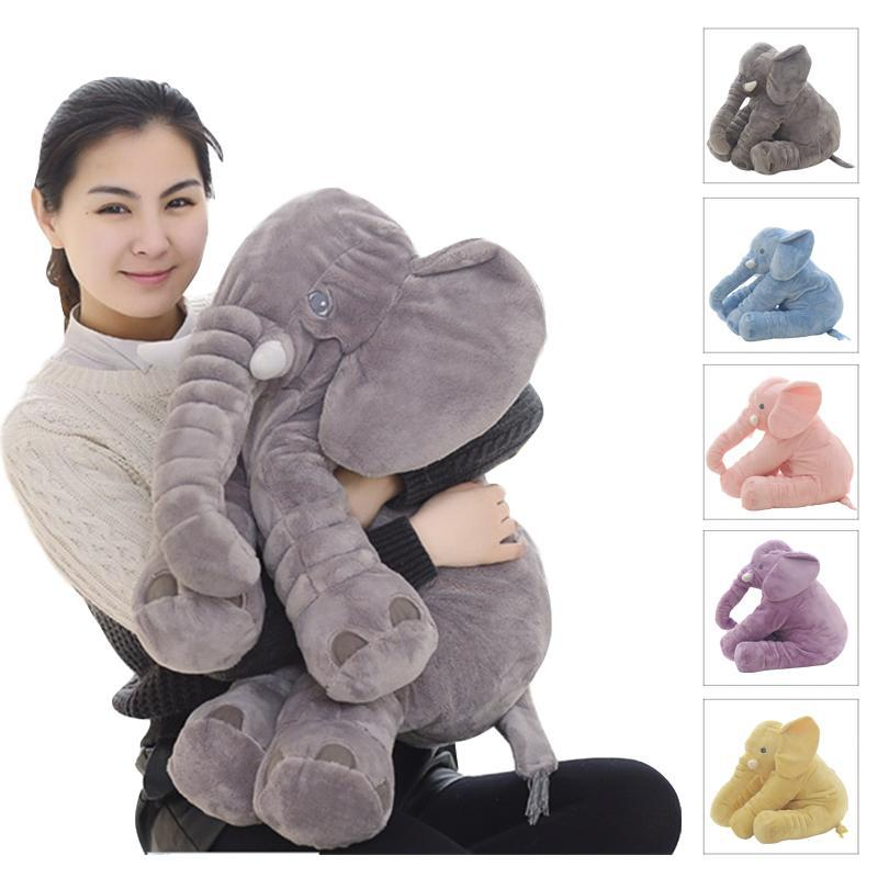Elephant Doll Toy Pillow