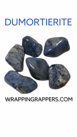 Dumortierite Crystal Tumble sell sale facts properties