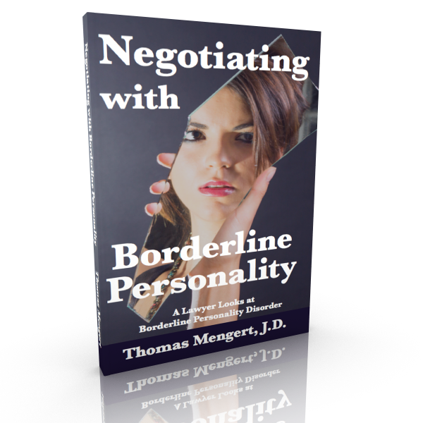 Negotiating With Borderline Personality
