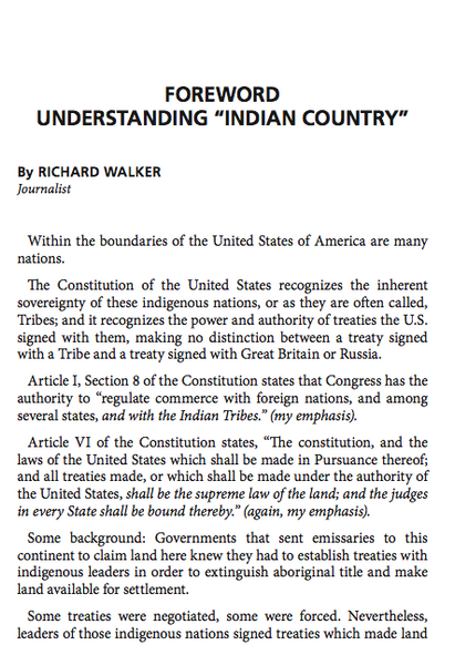 Indian Country Stylebook 2016 Edition