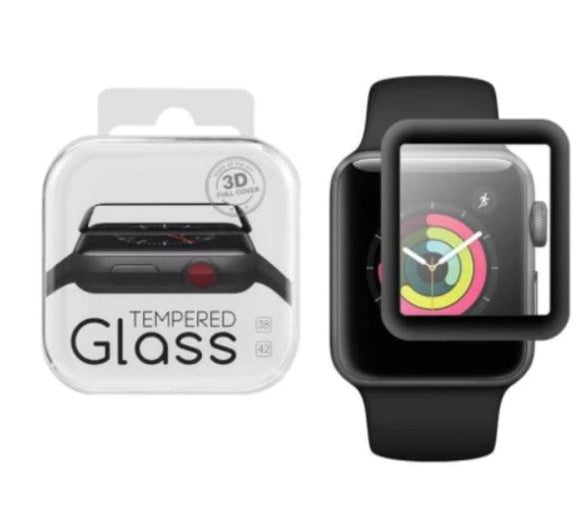 Full Cover / Full Glue Tempered Glass for Apple Watch 3D