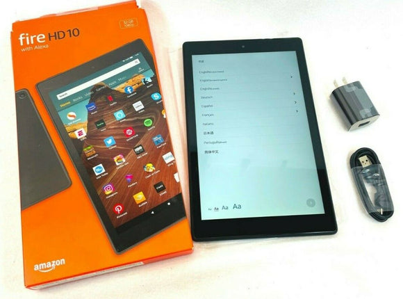 Brand New Amazon Fire HD 10 Tablet with Alexa, 10