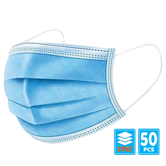 Blue Mask - 50pcs / pack