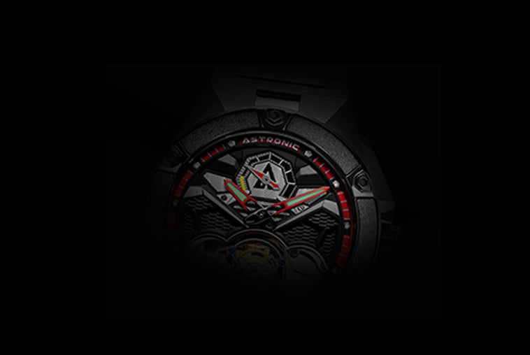 Astronic 3D Dial Swiss RC Tritec Luminous
