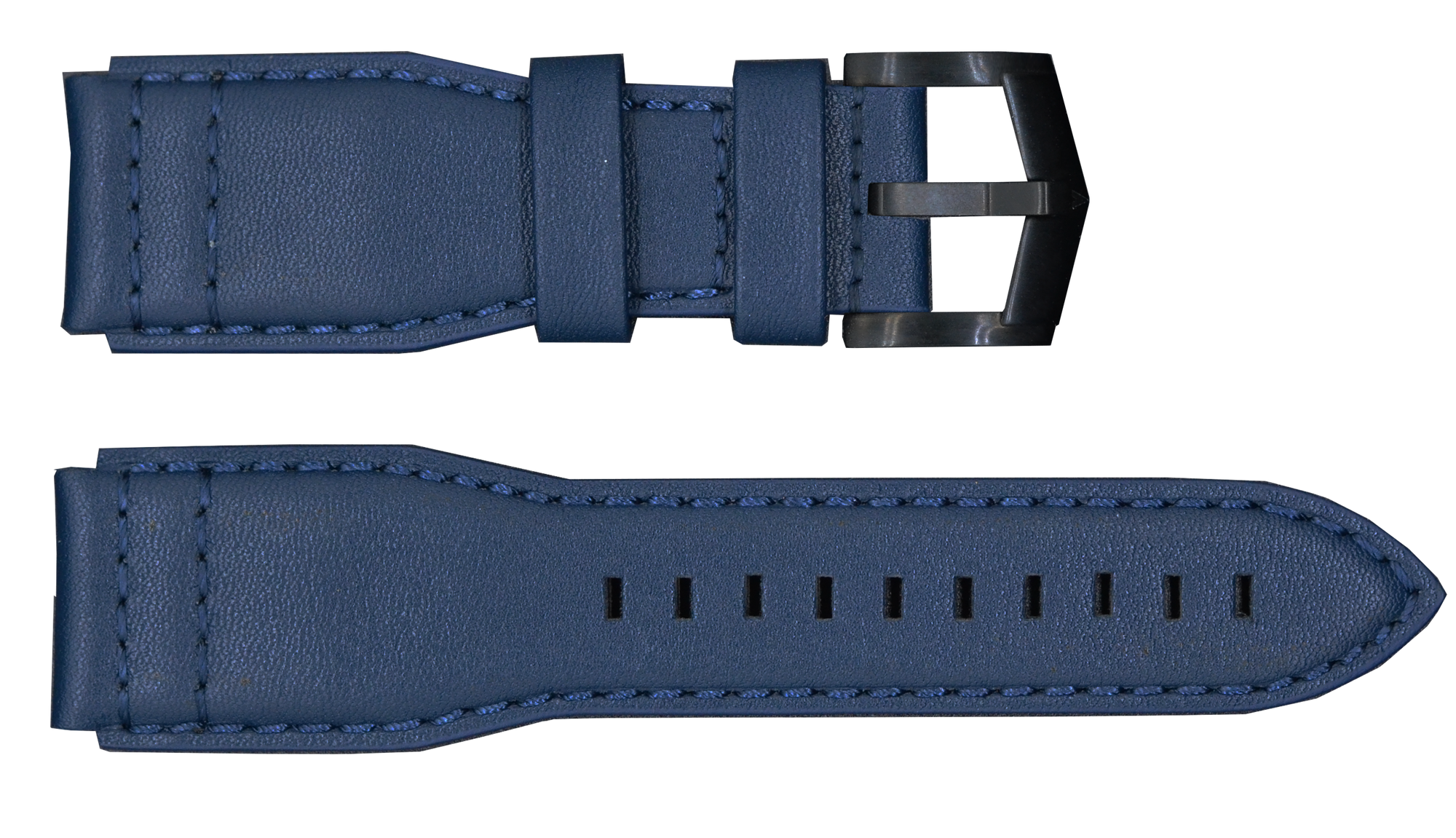 Blue Strap with Black Buckle