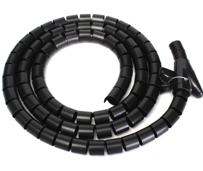 Easy Wrap Cable Spiral: Black