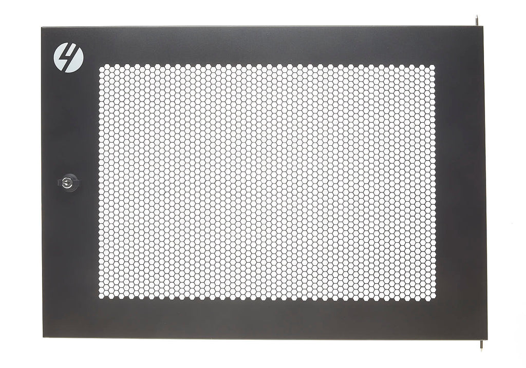 Mesh Front Door for 4RU Wall Mount Server Racks 600mm Wide