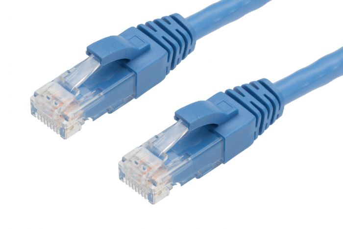 2m CAT6 RJ45-RJ45 Pack of 50 Ethernet Network Cable. Blue