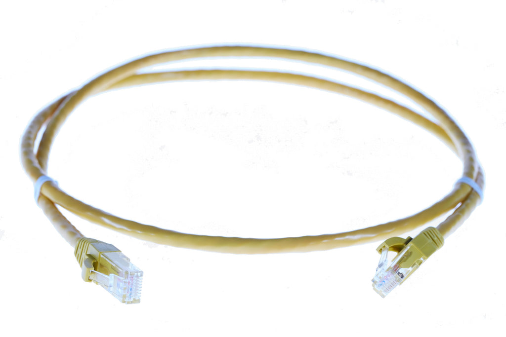 2m RJ45 CAT6 Ethernet Cable. Yellow