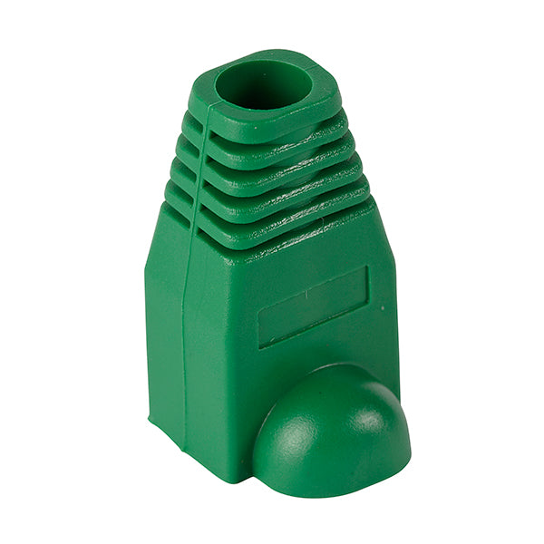 RJ45 Cable Boots - 10 Pack-Green