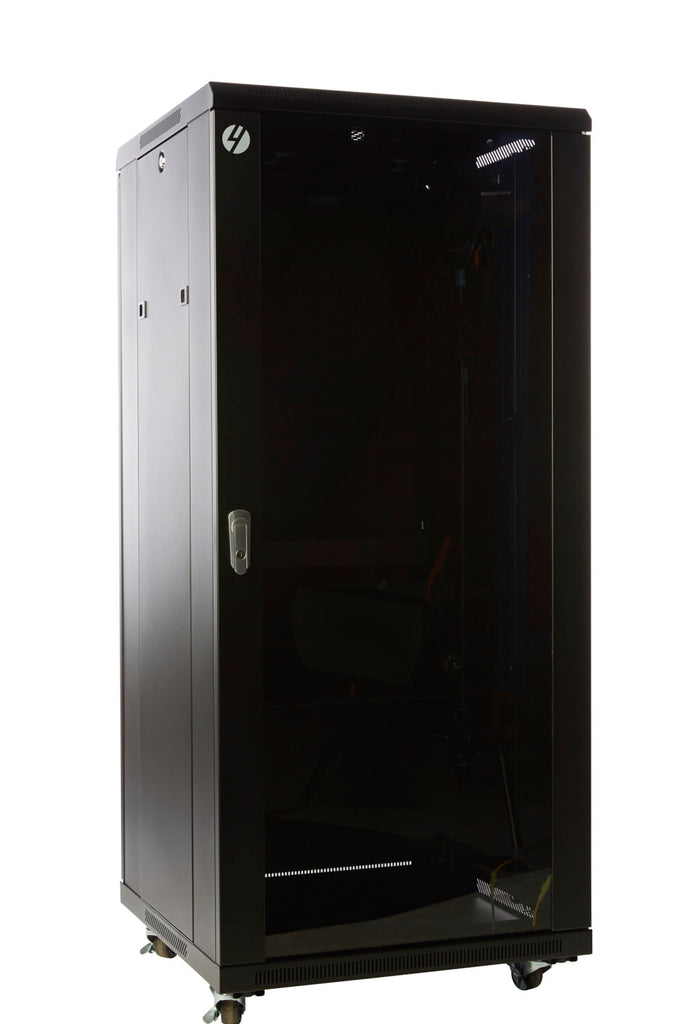 27RU 600mm Wide x 600mm Deep Server Rack