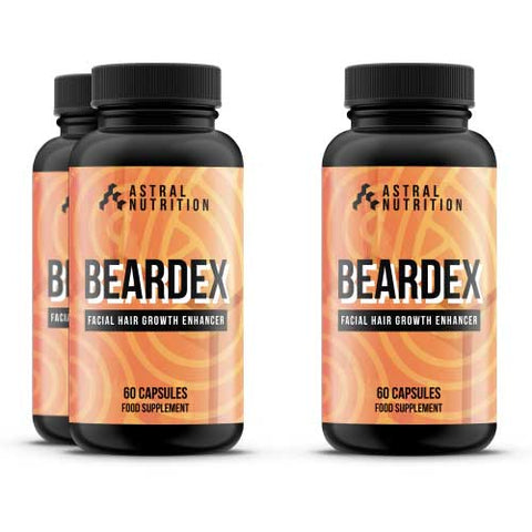 Beardex Beard Growth Pills