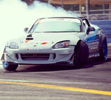 Chris Jeanneret at the controls of the Vibrant S2K Drift Racer