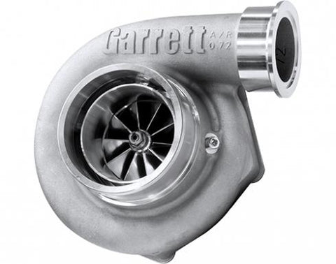 Garrett G25-660 Turbocharger is rated up to 660 horsepower for smaller displacement engines.   It also features an amazingly compact form, ceramic ball bearings and V-Band connections.
