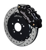 "Wilwood 6 Piston 12.88"" Big Brake kit for Honda S2000 - Black Calipers"