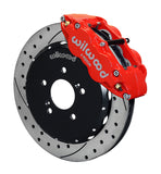 "Wilwood 6 Piston 12.88"" Big Brake kit for Honda S2000 - Red Calipers"