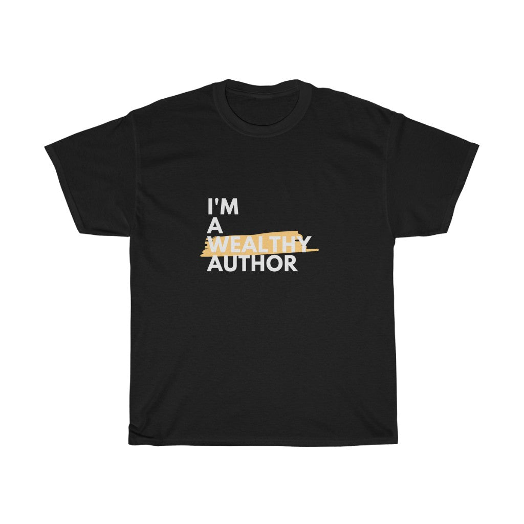 Unisex Wealthy Author (Variation) Heavy Cotton Tee