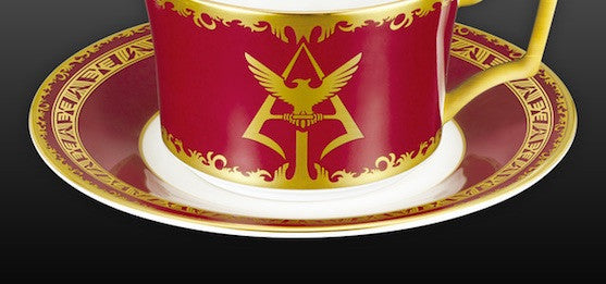 Drink Three Times Faster with the Char Aznable Teacup