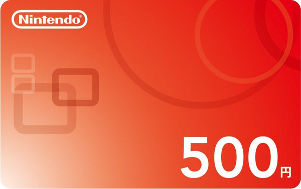 Japan Nintendo eShop 500 Prepaid Points