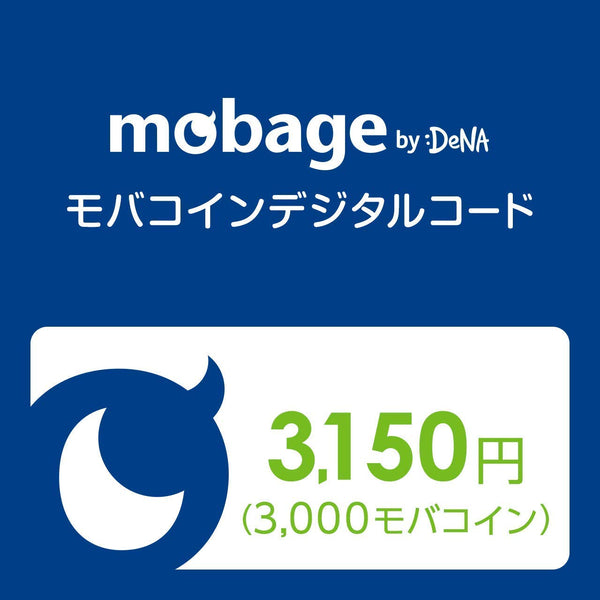 Japan Mobage Coin Prepaid Code by DeNA
