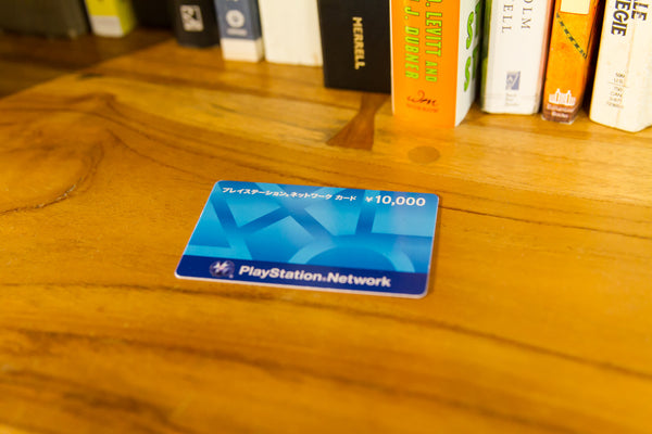 Japan Playstation Network Card 10,000 jpy