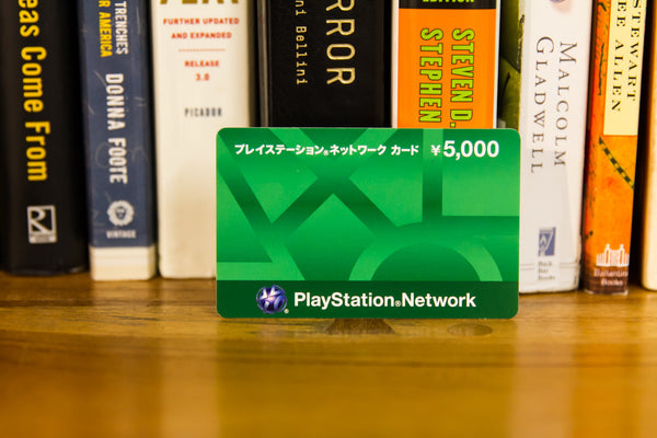 Japan Playstation Network (PSN) Card