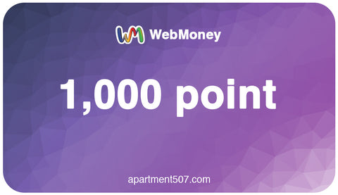 Japan WebMoney: 1,000 Point Code Email Delivery