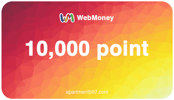 Japan WebMoney 10000 Points